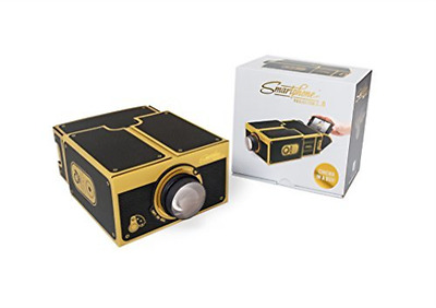 Smartphone Projector 2.0 (Black & Gold)  AC NEW