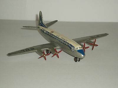 Dinky No 706 VICKERS VISCOUNT 'AIR FRANCE' AIRLINER 1956 very good original