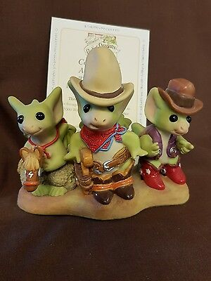 Pocket Dragons Three Tough Dragons From Texas Ltd Ed HTF