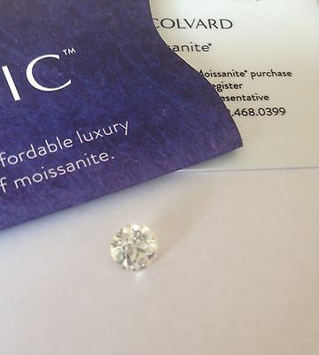 LOOSE CHARLES AND COLVARD OlLD CUT CLASSIC MOISSANITE 1.5CT WITH CERTIFICATE