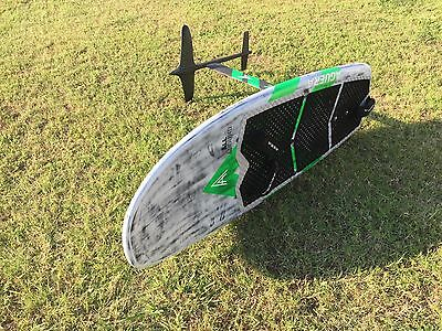 Alex Aguera 160 Carbon Kite Foilboard w 2 sets of wings, Excellent condition,