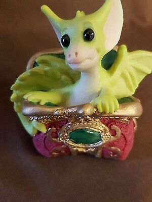 Pocket Dragons Percy 1992 with base label and box FREE POSTAGE !!