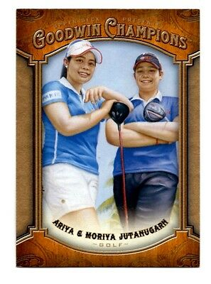 2014 Upper Deck Goodwin Champions Card #6 Ariya/Moriya Jutanugarn(Golf)(NM)