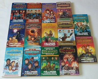 Star Wars Young Jedi Knights Novel Series Full Set Of 14 Books Rare