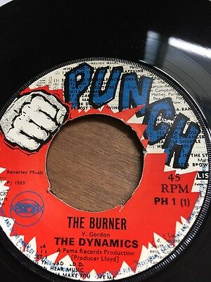"Original Uk Punch 1969"" The Dynamics"" The Burner"" Ph-1"