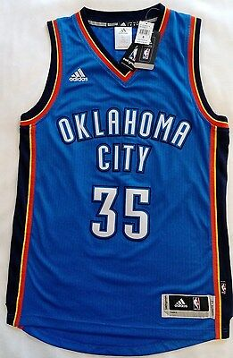 Brand New Adidas Oklahoma City Jersey - Kevin Durant - Adult Sizes: S, M, L, XL