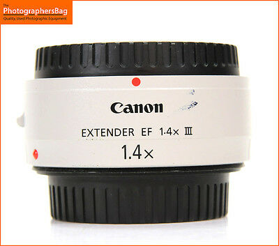 Canon EF 1.4 MK III Extender Canon EF Lens Free UK Post