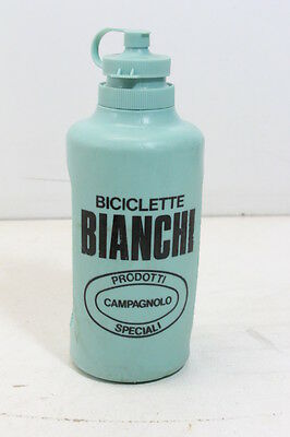 Bianchi borraccia originale anni 70s celeste vintage racing bike bottle