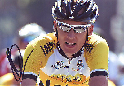 Robert Gesink - Autographed - Signed 5X7 inches 2015 TDF Lotto NL-Jumbo Photo