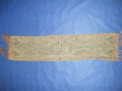 Very old Timor scarf, Ikat, hand woven