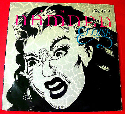 "The Damned Eloise 12"" BLUE VINYL PC UK ORIG 1986 MCA Beat Girl/Temptation VINYL"