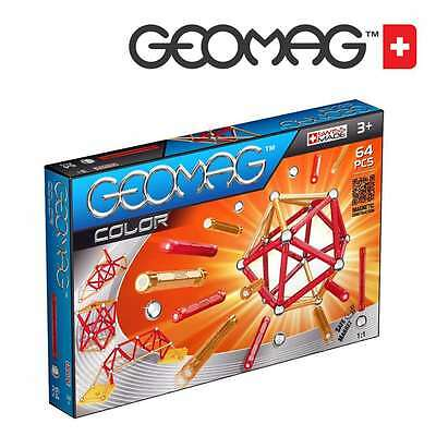 Geomag Colour Set (64 Pieces), New Toys And Games