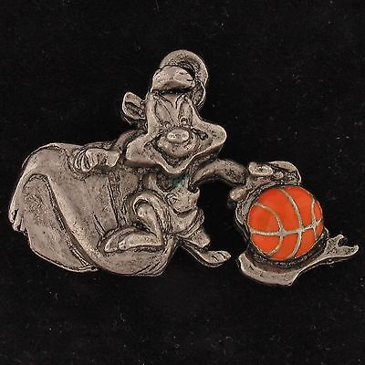 CHARM Pepe Le Pew WARNER BROS LOONEY TUNES Pewter BASKETBALL WB STORE 4266