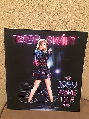 Taylor Swift Concert 1989 World Tour Book w/ 3D Cover Images