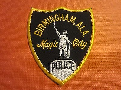 Collectible Alabama Police Patch Birmingham New