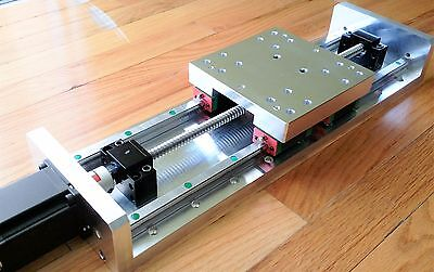HEAVY DUTY CNC LINEAR STAGE ACTUATOR 12IN/300MM Travel Original HIWIN (US Made)