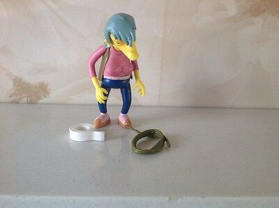 The Simpsons playmates World of Springfield Ms. Botz interactive figure