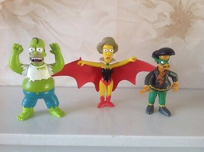 The Simpsons playmates KayBee Toys exclusive Bongo Group set of figures