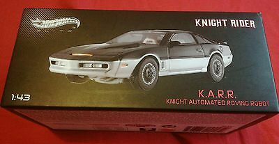 1:43 Knight Rider K.A.R.R Hot Wheels Elite NEW