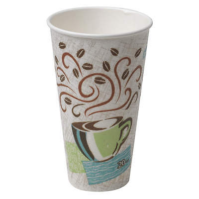 Perfectouch 12 oz. Disposable Hot Cup,  Paper,  White,  PK 1000 5342CD