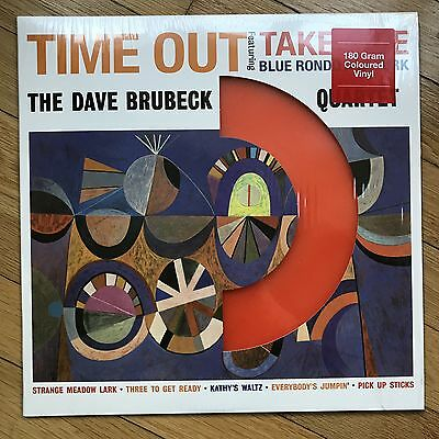 The Dave Brubeck Quartet Time Out LP 180 Gram Orange Coloured Vinyl