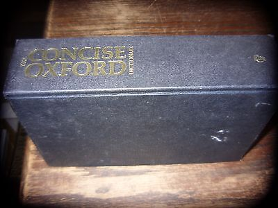 The concise oxford dictionary of current English 7th Edition 1986