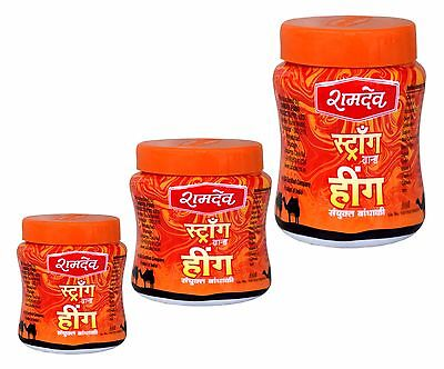 Ramdev Brand Strong Hing Compounded Asafoetida Available in 25, 50 & 100 gm Pack