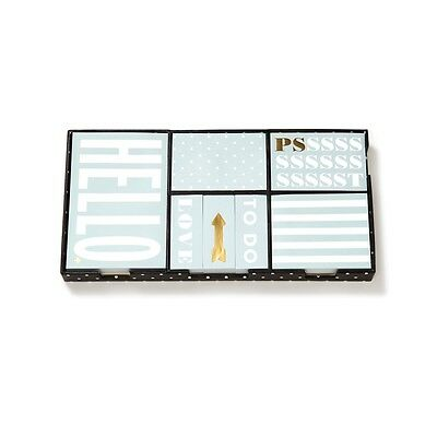 BRAND NEW - Kate Spade New York Sticky Note Set in This Just In - FREE SHIPPING