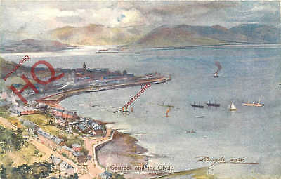 Postcard: Gourock, And The Clyde