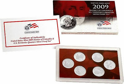 2009 District of Columbia & US Territories Quarter Proof Set