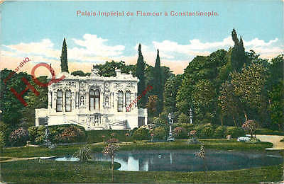 Postcard-:Constaninople, Istanbul, Palais Imperial De Flamour