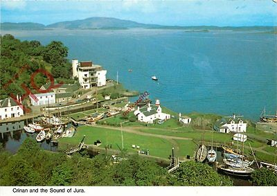 Postcard-:Crinan And The Sound Of Jura