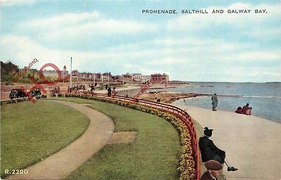 Postcard:-Salthill And Galway Bay, Promenade [Valentine's]