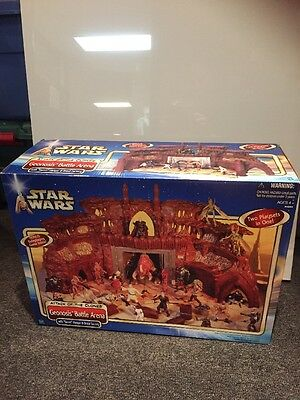 Star Wars ATOC Geonosis Battle Arena Droid Factory Hasbro 2002 New Sealed