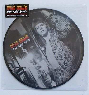 "David Bowie 7"" 40Th Anniversary Open Rock N Roll Suicide"
