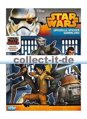 TOPPS - Star Wars Rebels Sticker - Album