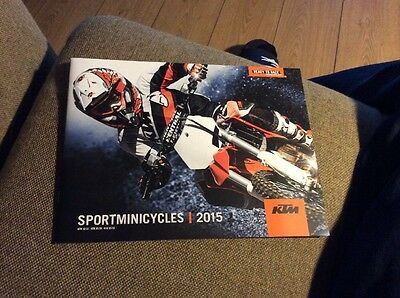 KTM Sportminicycles 2015 Showroom Brochure