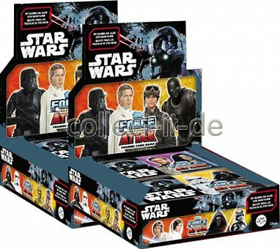 TOPPS - Star Wars - Force Attax - Universe - 2 Display (48 Booster) - Deutsch