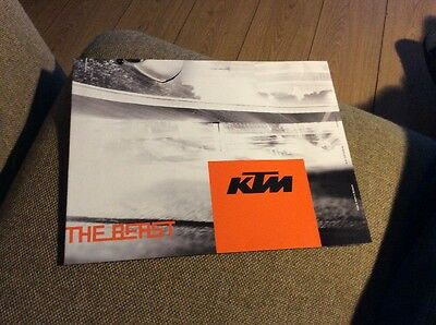 KTM Model Range Street 2014  Showroom Brochure Mint