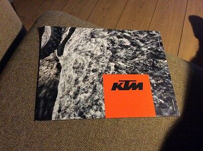 Ktm Model Range 2014 Range Poster Showroom Brochure Mint