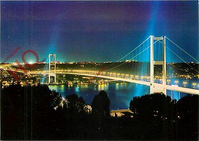 Postcard--Istanbul, The Bosphorus Bridge