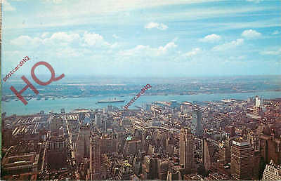 Postcard--THE QUEEN MARY, NEW YORK CITY