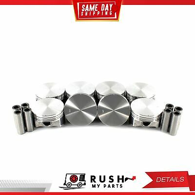 DNJ RB3114.10 Oversize Rod Bearing Set For 85-09 Chevrolet 2.8L 3.4L DOHC OHV