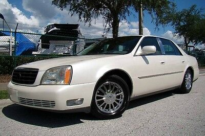 2003 Cadillac DeVille DHS Sedan 4-Door 2003 CADILLAC DEVILLE DHS LOW MILES! WHITE DIAMOND PEARL! NAV & NIGHT VISION! FL