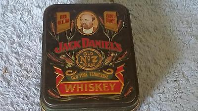 Vintage Collectible Decorative Jack Daniel's No.7 Whiskey Tin w/bottles