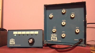 array solutions rat pack  6 way antenna switch high power amplifer
