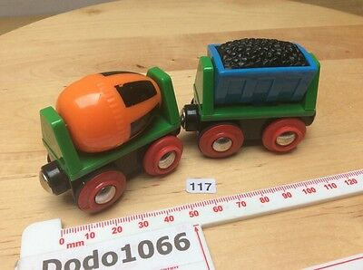 2 Brio Trucks - Wooden Train Track (BRIO, Thomas, ELC etc)
