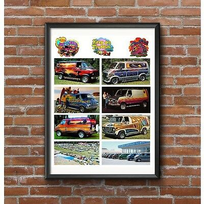 Custom Vans of the 1970's Poster - Van Craze Keep On Truckin