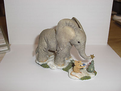 Tuskers the elephant 8cm Tall BOXED Finishing Touches