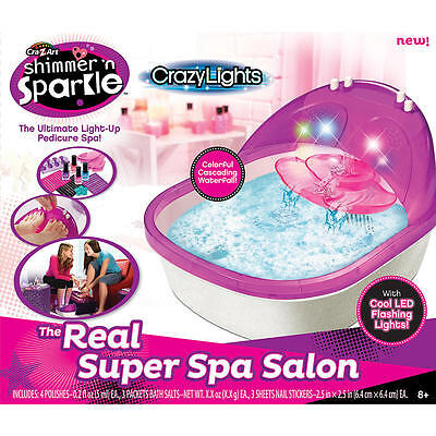 Cra-Z-Art Shimmer 'n Sparkle The Real Super Spa Salon Playset